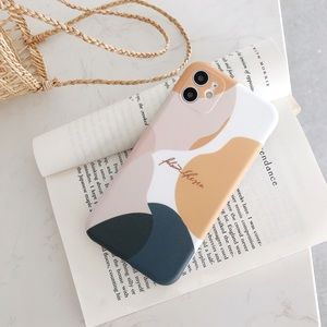 Art Retro Abstract Soft Case Cover For iPhone X/XS